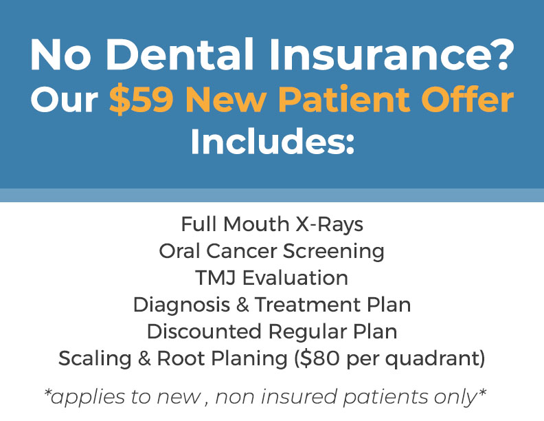 New Patient offer for $59